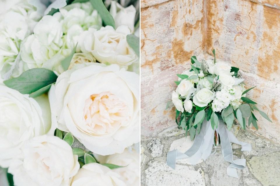 Monterey Wedding Flowers at Carmel Mission Wedding Venue