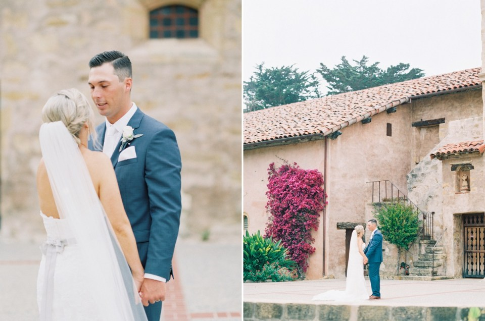 Monterey Wedding At Carmel Mission And Naval Postgraduate School Club Del Monte