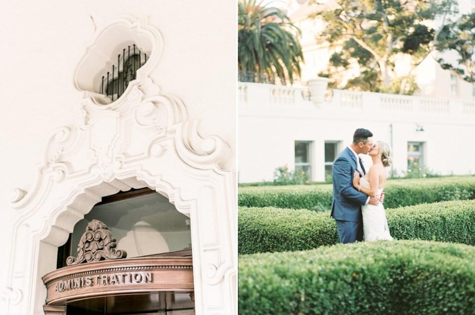 Monterey Wedding Venue | Naval Postgraduate School Club Del Monte Grounds