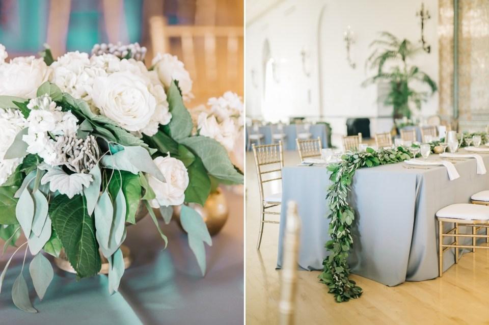 Monterey Wedding Venue | Naval Postgraduate School Club Del Monte Ballroom Reception