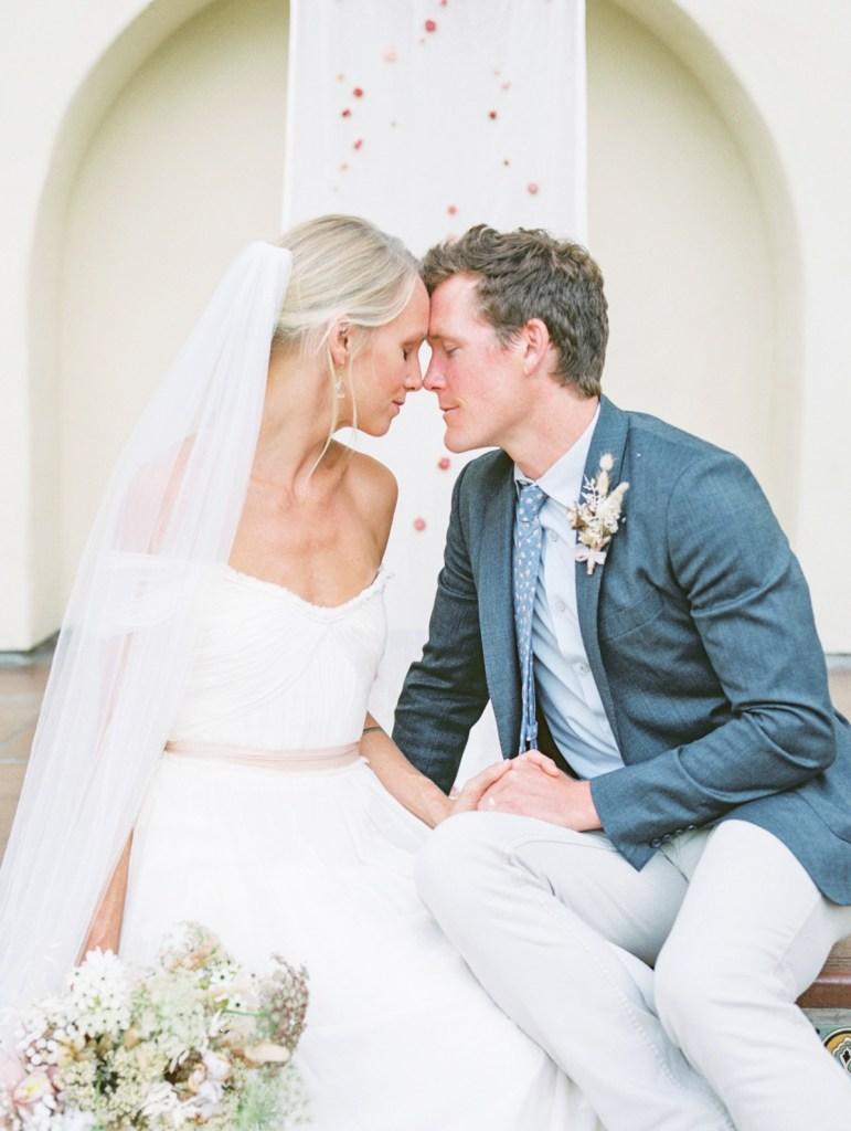 Bride and Groom Estancia La Jolla Wedding Venue In San Diego