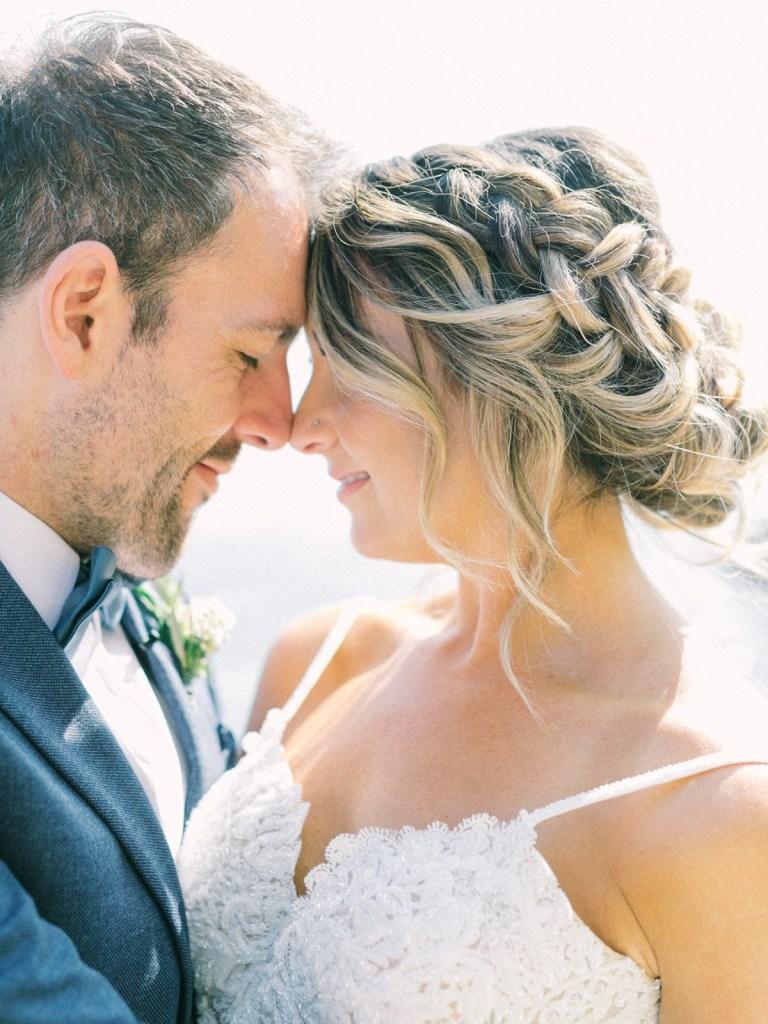 Couple At Lake Tahoe Wedding Venue
