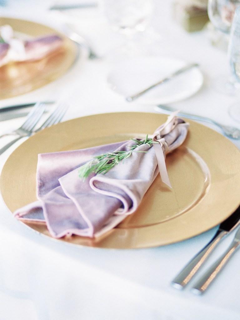 Blush and Mauve Wedding Details At Lake Tahoe Wedding Venue, The Resort At Squaw Creek Wedding