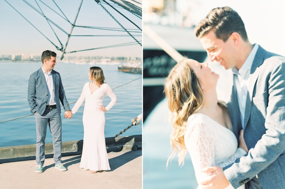 Elopement In San Diego At San Diego Bay Courthouse On Film