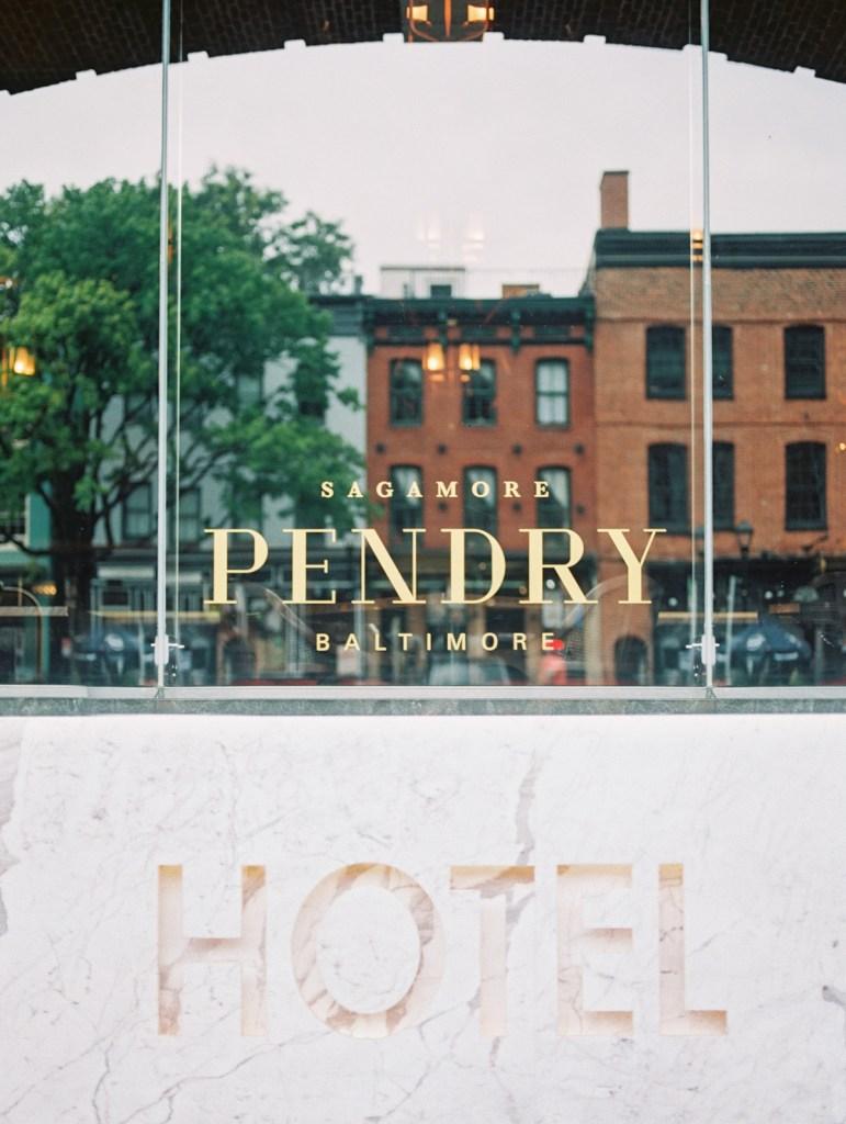 Sagamore Pendry Wedding | Baltimore Film Photographer