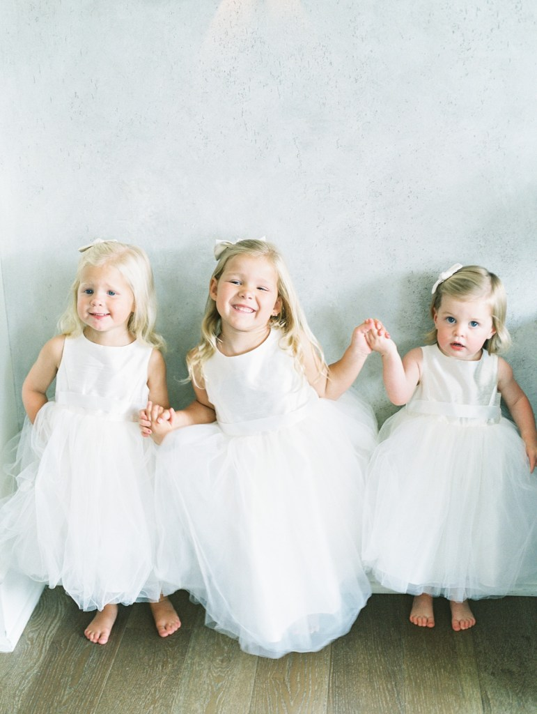 Flower Girls In Classic Dresses | Sagamore Pendry Wedding