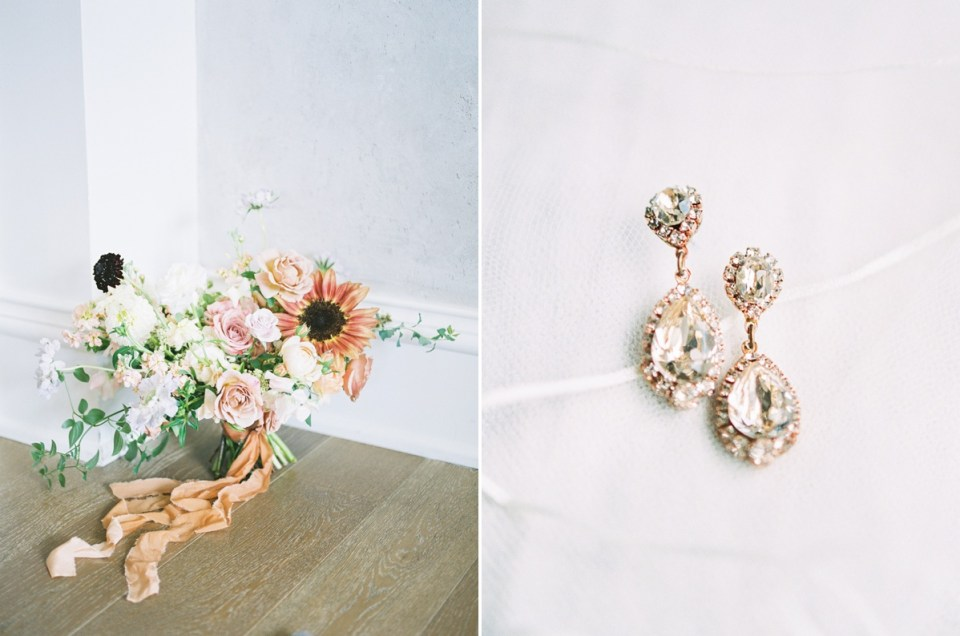 Bridal Details At the Sagamore Pendry Hotel In Baltimore