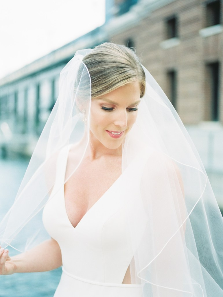 Fells Point Bridal Portraits On Film At The Sagamore Pendry Hotel
