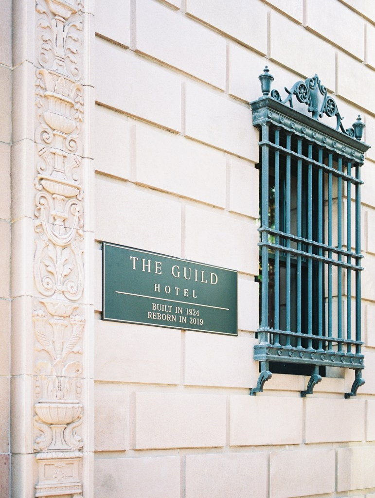 The Guild Hotel Wedding Venue In Downtown San Diego | Shot on film by San Diego photographer, Mandy Ford