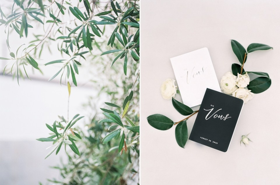 Wedding At The Guild Hotel And The Lane In Downtown San Diego | Shot on film by San Diego photographer, Mandy Ford