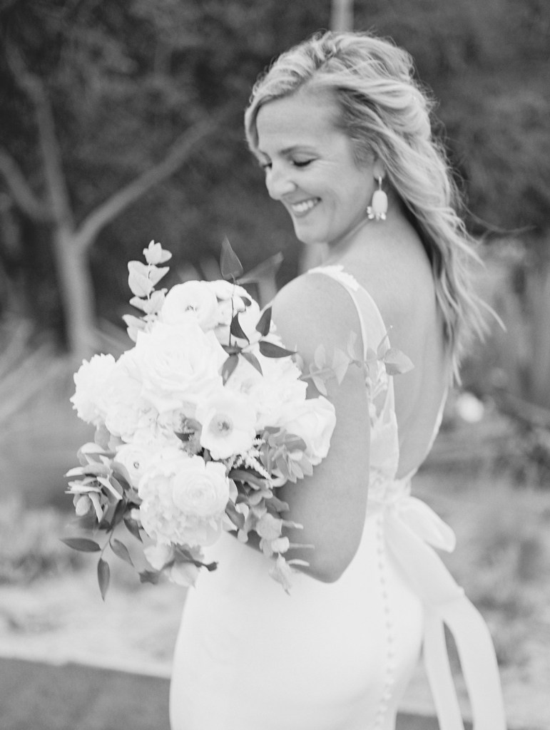 Bride at L'Auberge Del Mar Wedding