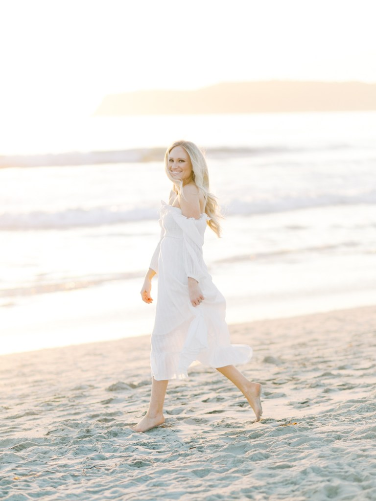 White Dress Inspiration For the Beach