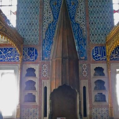 Harem at Topkapi Palace Istanbul Turkey, Copyright Mandy Sinclair