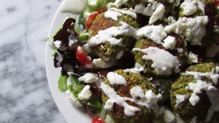 falafel-salad