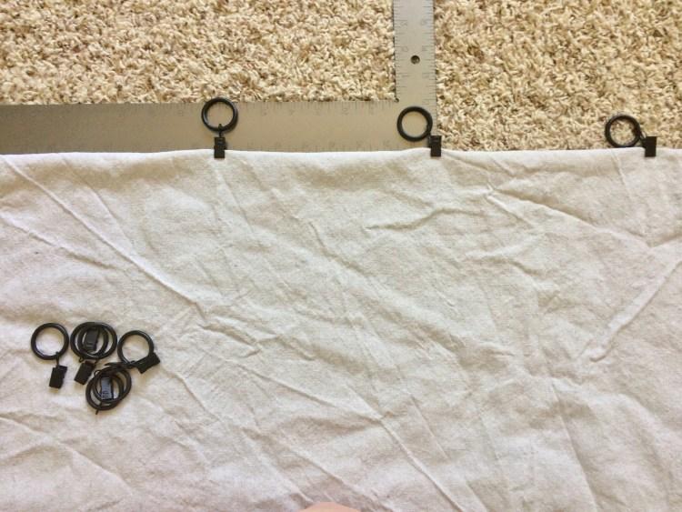 attaching drapery hooks