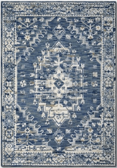Blue Vintage Area Rug