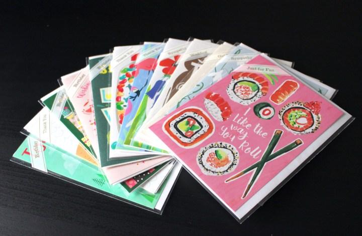 Greeting Cards from Trader Joe's