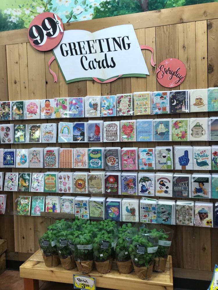 Trader Joe's Greeting Cards
