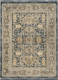 Traditional Blue Area Rug