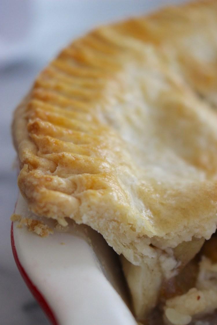 Crispy Flaky Pie Crust Recipe