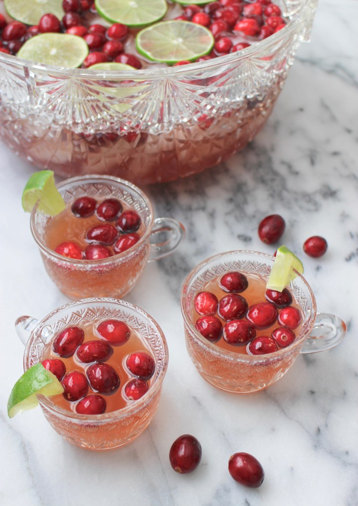 Easy Holiday Party Punch