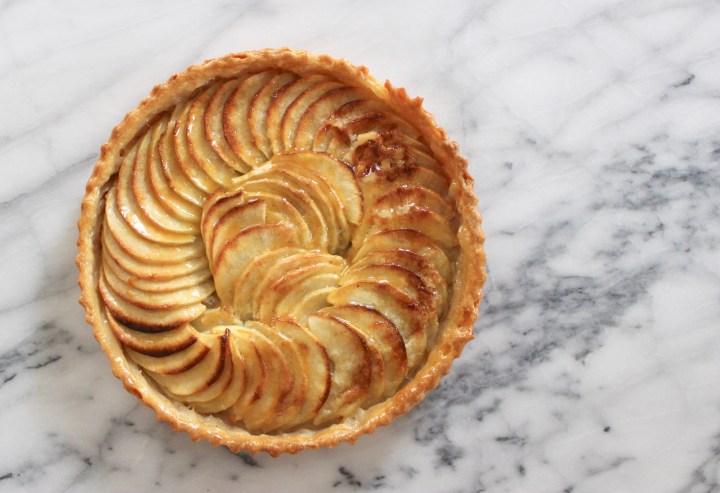 Homemade French Apple Tart