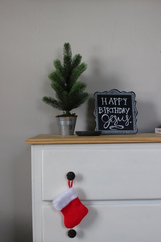 Mini Christmas Tree in Nursery