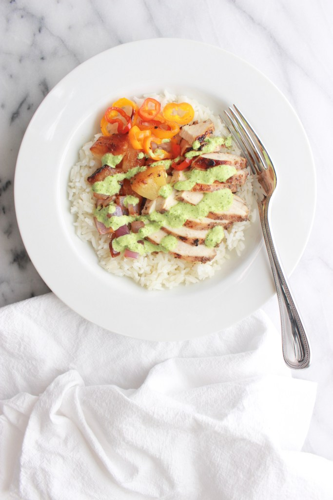 Jerk Chicken Rice Bowl