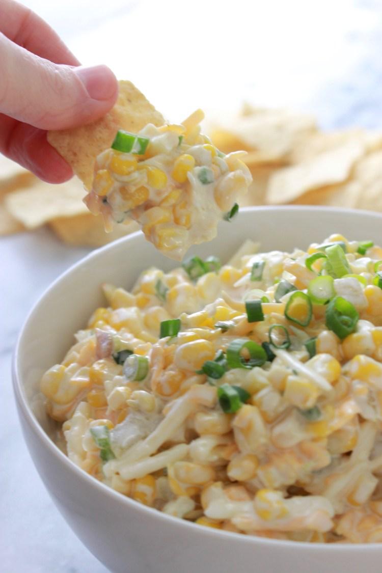 Creamy Mexican Corn Dip