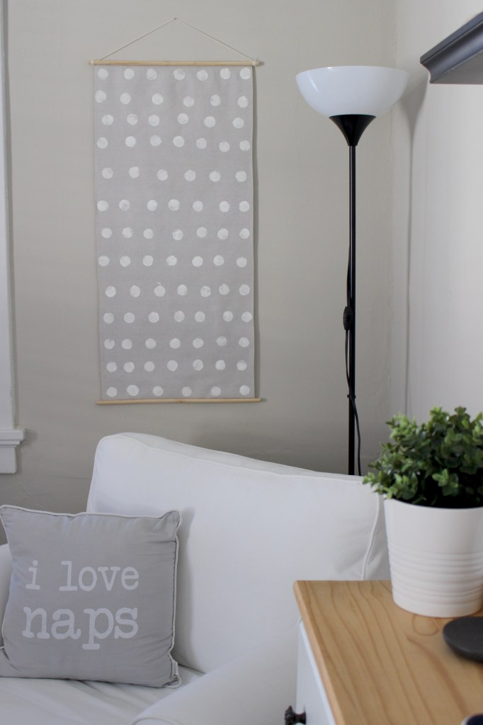 DIY Nursery Wall Art to Cover Fuse Box