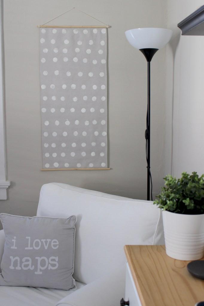 DIY Nursery Wall Art to Cover Fuse Box