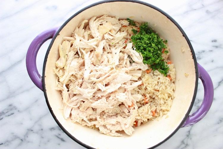 Chicken Bog - One Dish Chicken and Rice