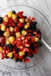 Foolproof Fruit Salad | How to make fruit salad with lots of fruit options! An easy and customizable fruit salad recipe that's perfect for parties and crowds.