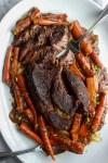 Dijon and Balsamic Pot Roast