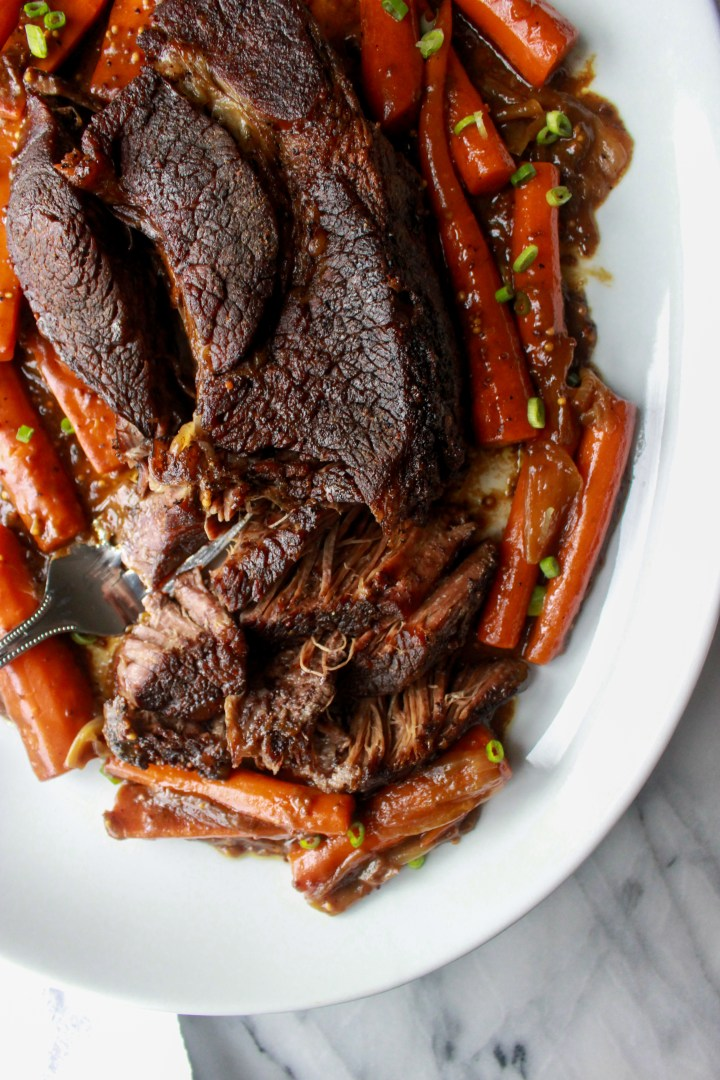 Dijon + Balsamic Pot Roast
