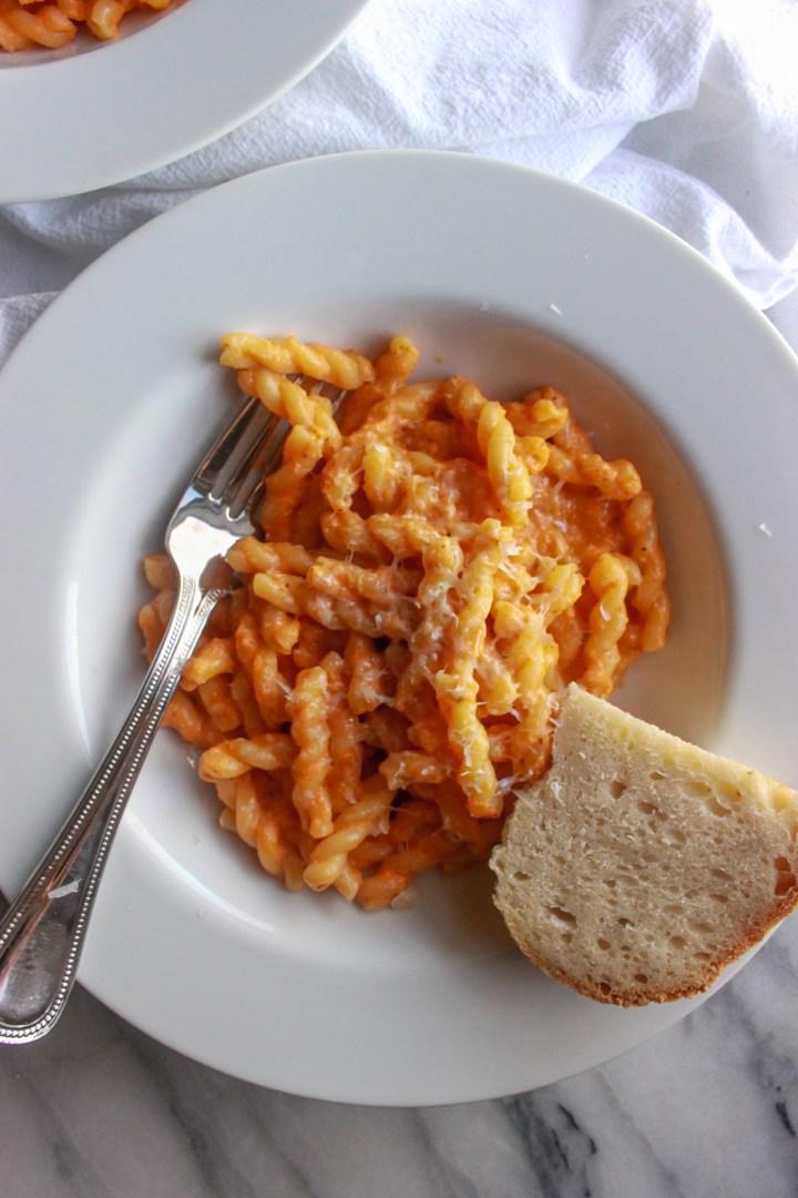 creamy pasta rosa