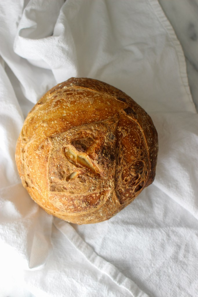second sourdough loaf