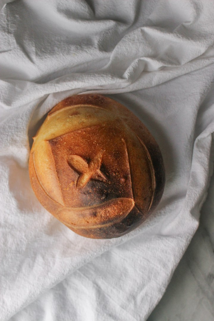 third sourdough loaf