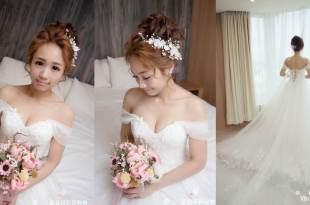 屏東車城新秘 ♥ 美炸到上三立新聞 ♥  讓人想戀愛夢幻新娘妝