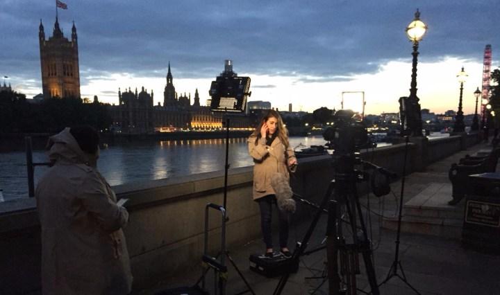 LiveU Bonded 4G Broadcast Westminster, London, England