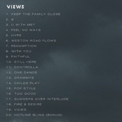 """wp-1461792081814 Tracklist For Drake's """"Views From The 6"""" Album"""