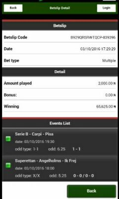 1475584154000 1478346728409 - ​Many Won Recently, BET9JA BETTING CODES, Today 7th Dec 2016 Sure Games,​