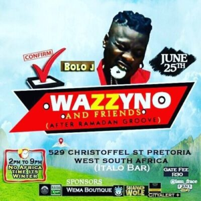 img 20170623 140702 387 - Opa6, Bolo J, Niyas To Perform At Wazzyno's First Show In South Africa