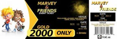 22712231 1418039864960432 8194050467125729493 o - Marvey & Friends Tickets & Show Dates 2017 (Photos)