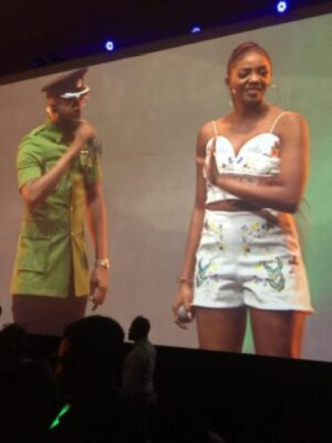 drhc5nwxkamgbb_ Singer, Simi Arrives #TheFalzExperience In Style!(Photos)