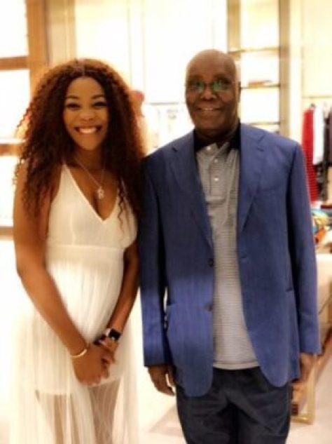 dst2lanwkau9i_j Lady Gushes About Atiku Abubakar After She Met Him At Gucci Store (Photos)
