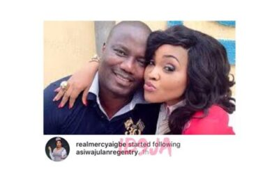 25037700 166076587340878 8584625449781428224 n - Actress Mercy Aigbe's Begins Following Her Estranged Husband On Instagram (Pics)