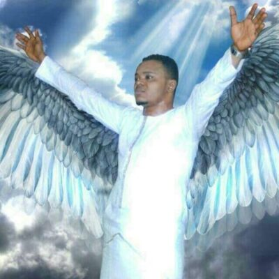 angel obinim - Bishop Daniel Obinim 'Turns Into An Angel', Attempts To Fly To Heaven (Video)