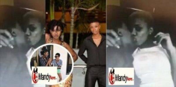 franky-and-ebony-k Ebony Was Truly A lezbian, New Video Sees Her Deep Kissing Frank Kuri (Photos,Video)