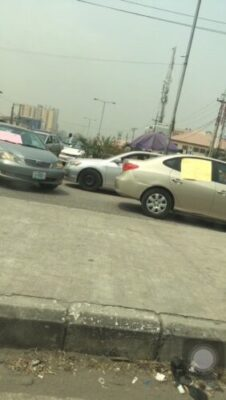 img 7425 - Taxify Drivers Protest In Lagos (Photos)